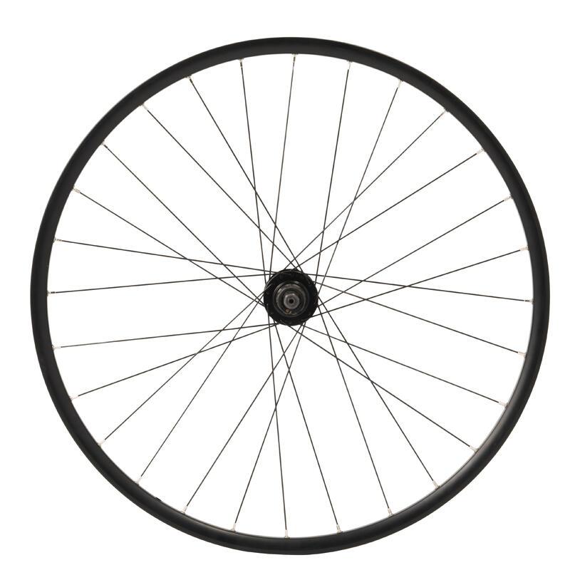 Rueda Bicicleta Polivalente Aro 28 Trasera Doble Pared Negro