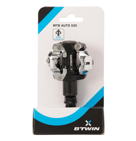 520 SPD-Compatible Clipless Mountain Bike Pedals