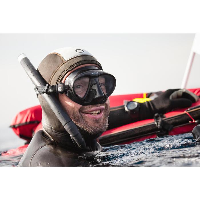 Tuba chasse sous-marine en apnée souple SPF 500