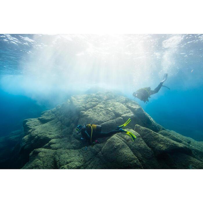 Dames duikpak SCD 100 voor diepzeeduiken, 7,5 mm koud water