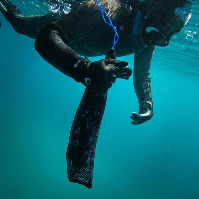 Net SPF 100 voor harpoenvissen