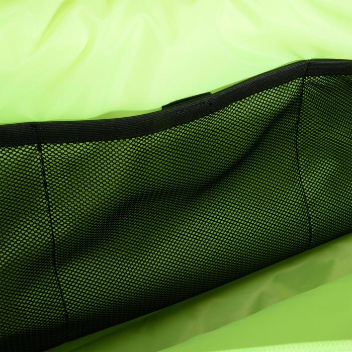 Tennistasche SB190 2 Schläger schwarz/kaki