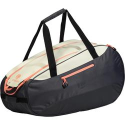 SB160 Racket Sports Bag - Grey/White/Coral