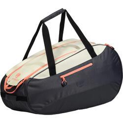 SB160 球拍運動包 - 灰色/白色/珊瑚色