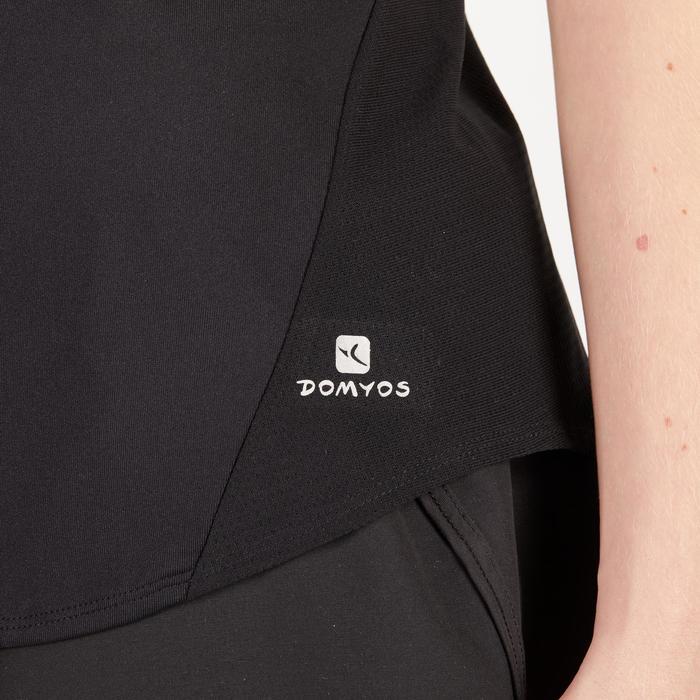 120 Women's Cardio Fitness Tank Top - Black with Print