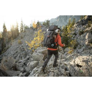 Trekkingrucksack Trek 900 mit 70+10 Liter Herren grau