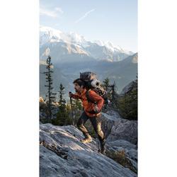 Rugzak voor bergtrekking heren Trek 900 Symbium 90+10 l kaki