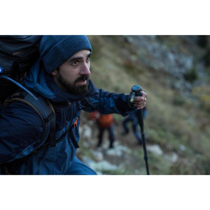 Veste TREKKING montagne TREK 500 homme bleu - 1287447