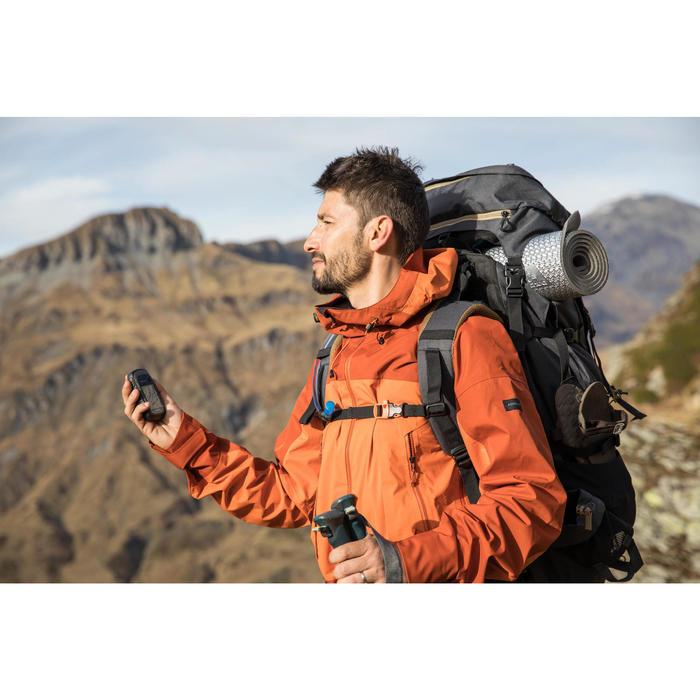 Sac à dos trekking montagne TREK900 70 L +10 L SYMBIUM homme Gris