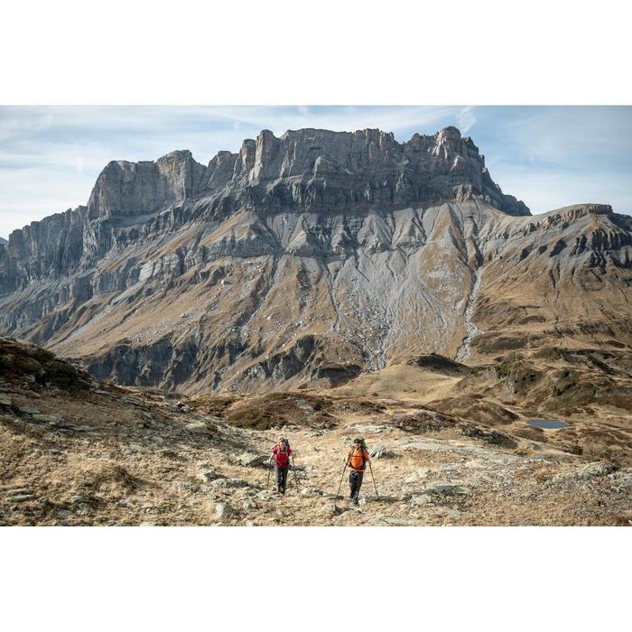 T-shirt manches courtes trekking montagne TREK 100 femme rose
