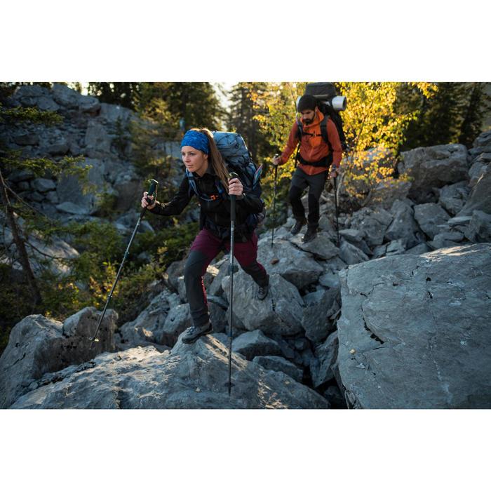 Women's Mountain Trekking Wind Jacket Trek 900