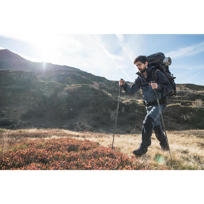 Mochila de Motaña y Trekking Trek900 Symbium 90+10 Litros Hombre Caqui