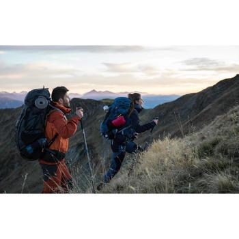 Sac à dos montagne TREK 700 70+10 Femme Gris carbone - 1287493