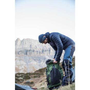 Rugzak voor bergtrekking heren Trek 500 70 +10 l olijfgroen