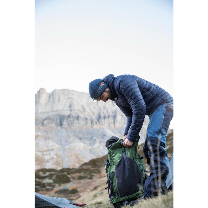Rugzak voor bergwandelen, voor heren, Trek 700 70+10 olijfgroen