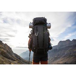 Bergsport rugzak voor heren Trek 900 70 l +10 l Symbium grijs