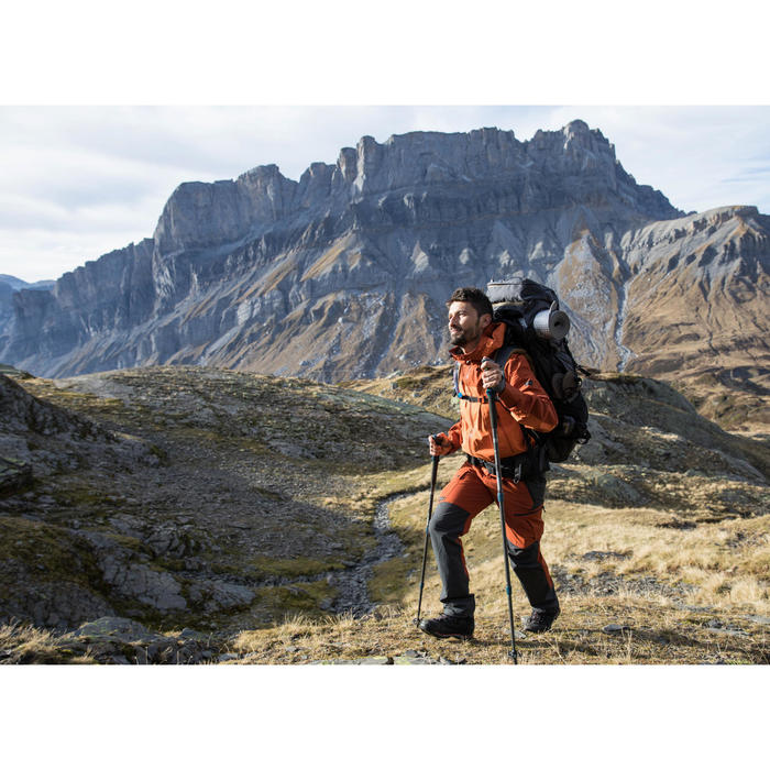 Pantalón trekking montaña TREK 500 hombre marrón