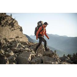 Cortaviento trekking montaña TREK900 hombre naranja