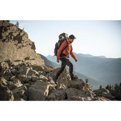 Coupe-vent trekking montagne TREK900 homme orange