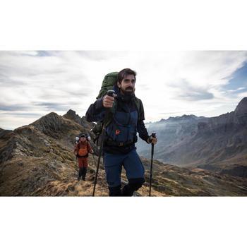 Chaqueta impermeable trekking montaña TREK 500 hombre azul