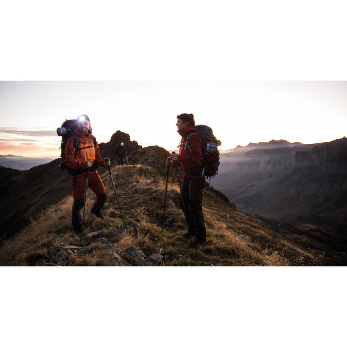 Veste trekking montagne TREK 700 femme Bleu - 1287535