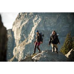 Cortaviento trekking montaña TREK900 mujer azul oscuro