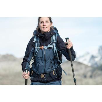Mochila de Montaña y Trekking Trek500 50+10 Litros Mujer Azul