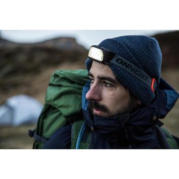 Linterna frontal de trekking ONNIGHT 100 azul - 80 lúmenes