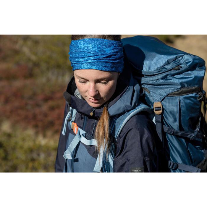Bandeau de Trekking montagne TREK 500 multi positions bleu