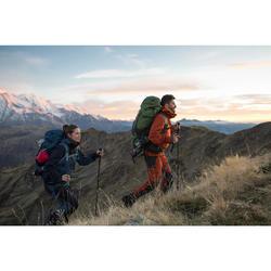 Herenbroek voor bergtrekking Trek 500 bruin