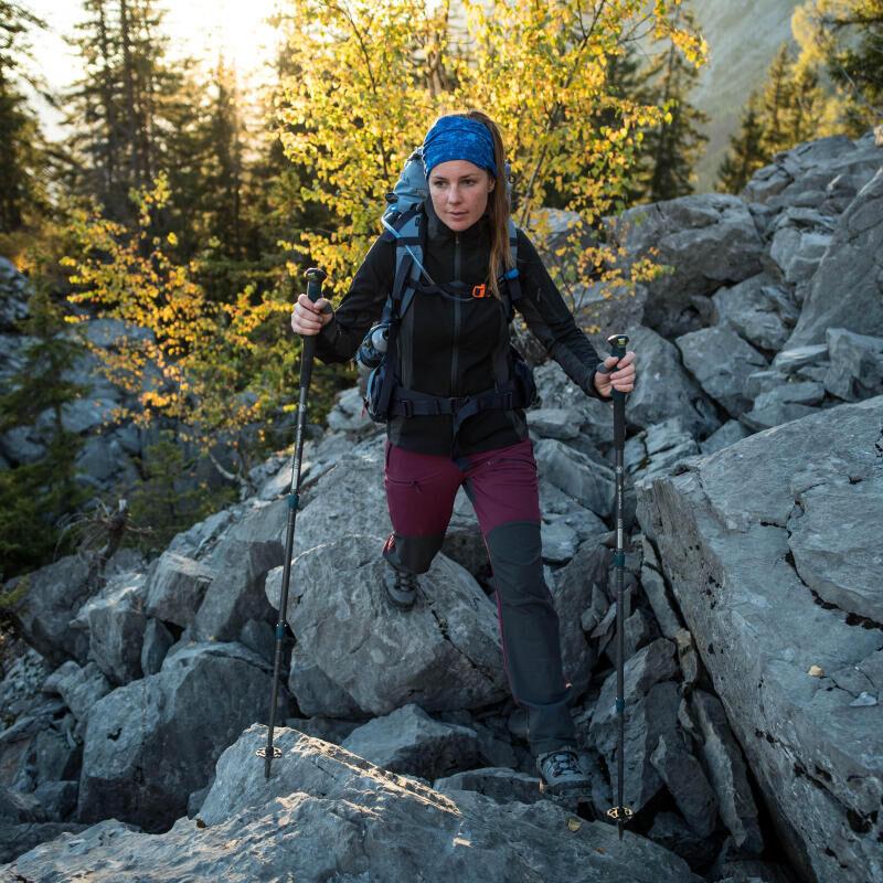 Storing your trekking hiking poles