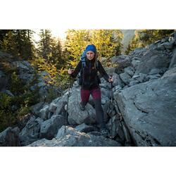 Cinta de trekking en montaña TREK 100 multiposiciones negra