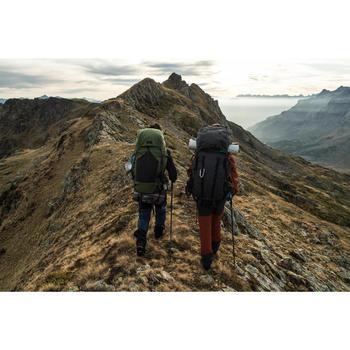 Sac à dos trekking montagne TREK500 70L + 10L Homme Vert