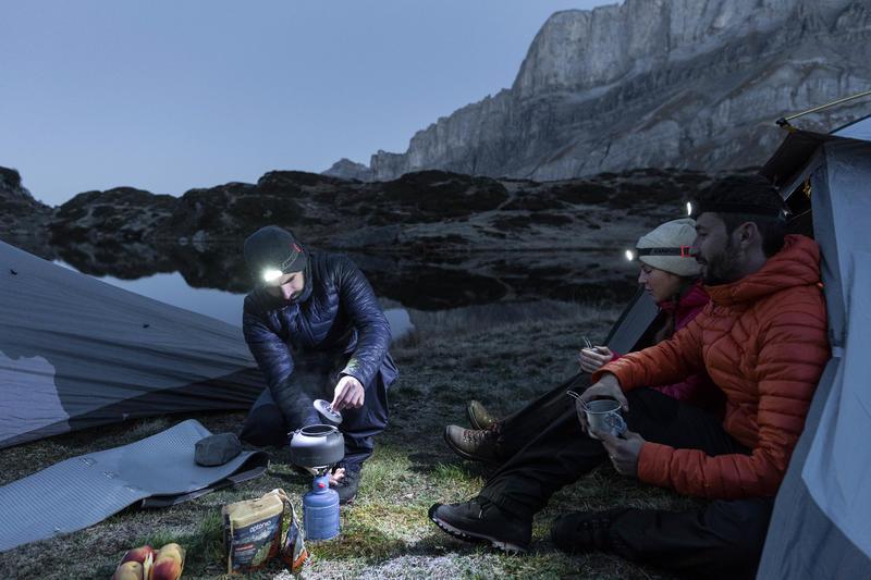 Lampe frontale randonnée ONNIGHT 100 bleue - 80 lumens