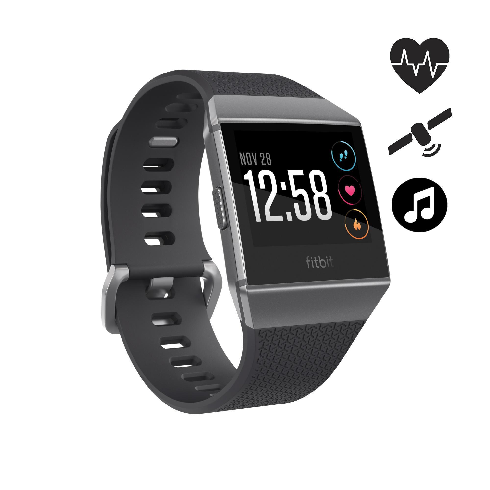 Coach-Smart-Watch Ionic Herzfrequenz GPS Musik | Uhren > Smartwatches | Fitbit