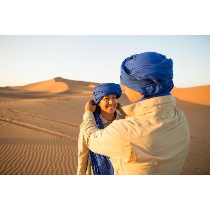 Cheich de Trekking désert DESERT500 bleu - 1287858