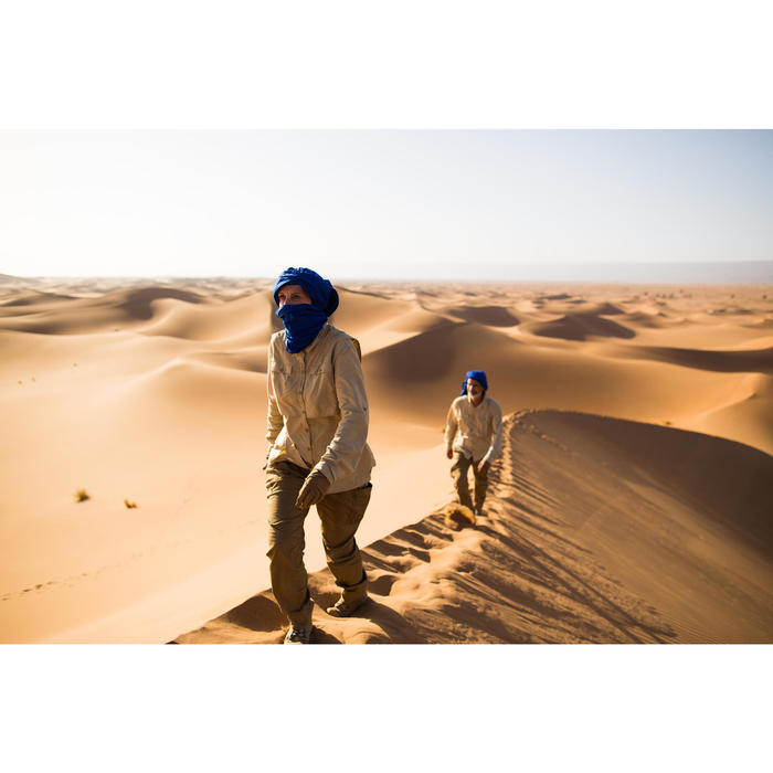 Anti-UV-handschoenen voor woestijntrekking Desert 500 bruin