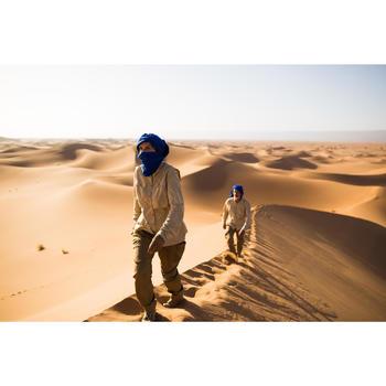 Pantalón Cargo de Montaña y Trekking Desierto Forclaz 500 Mujer Marrón