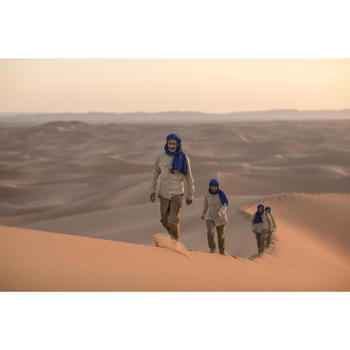 Botas de Trekking en el desierto DESERT 500 marrón