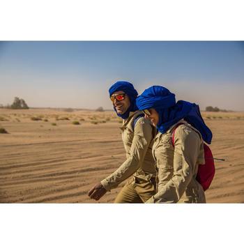 Damesblouse met lange mouwen voor woestijntrekking Desert 500 beige