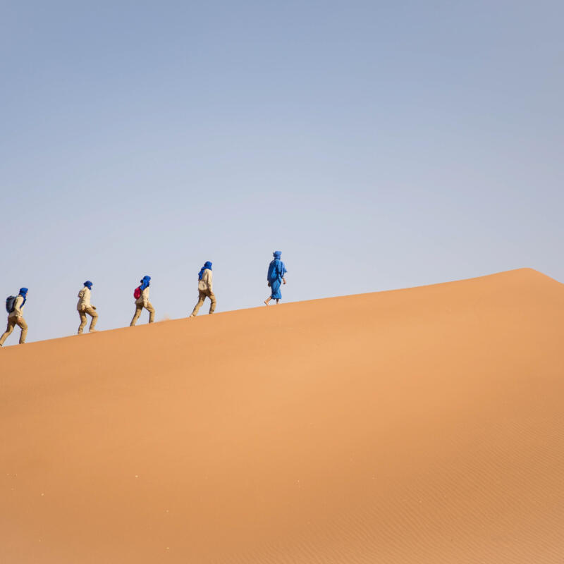 trek dans le désert : mode d'emploi