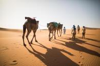 Desert trekking organisation Morocco