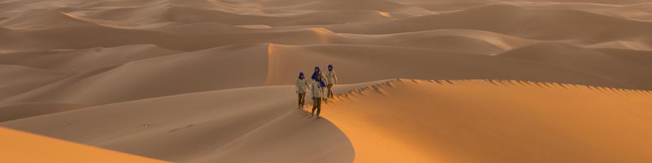astuces pour mieux supporter le sable dans le désert