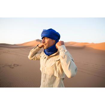 Camisa de manga larga de trekking en el desierto DESERT 500 hombre beige