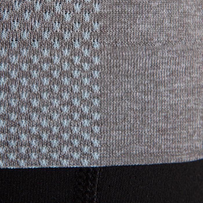 Débardeur sans coutures Yoga femme gris/bleu - 1288012