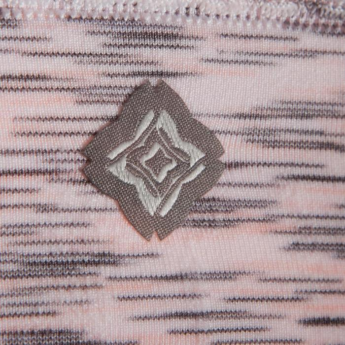 Omkeerbaar naadloos yogatopje voor dames gemêleerd roze