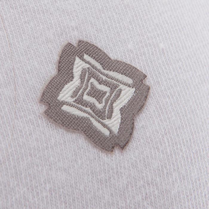 T shirt yoga doux femme en coton issu de l'agriculture biologique noir - 1288080