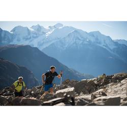 Camiseta Manga Corta Montaña y Trekking Quechua FH500 Helium Hombre Azul Marino