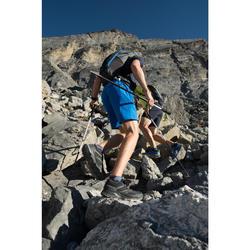 Wanderschuhe Speed Hiking FH500 Helium Herren schwarz