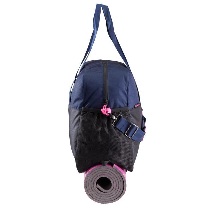 Sporttasche Fitness 30l blau/schwarz/rosa